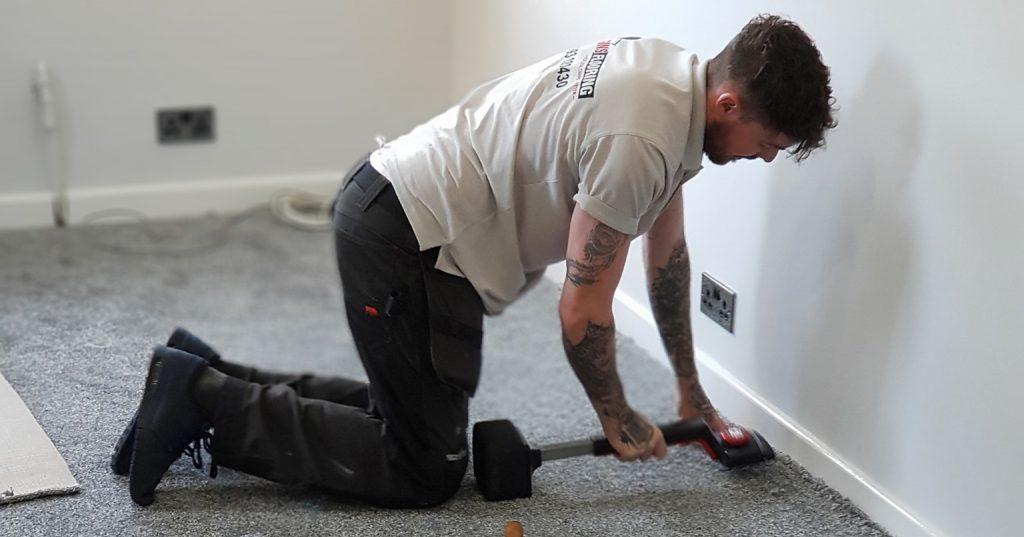 fitting grey carpet