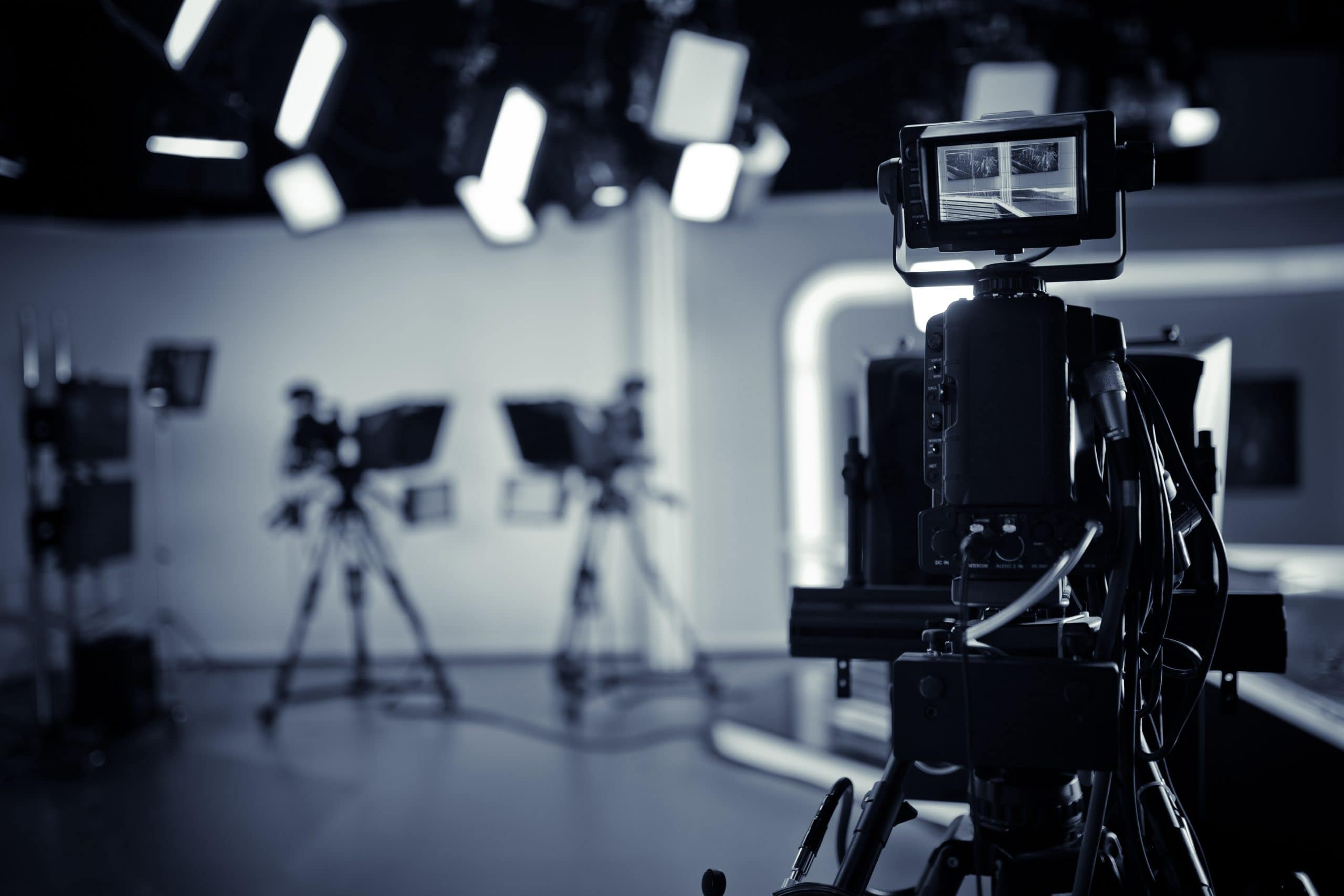 Filming a spotlight video